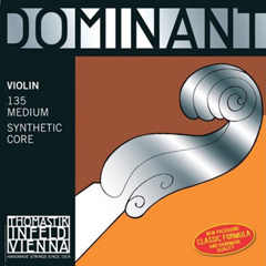 A set of Thomastik-Infeld Dominant Violin strings