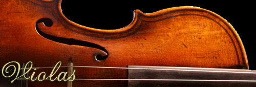 Violas for sale at Sapp Violin Shop